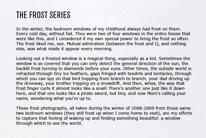 The Frost Series