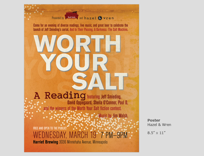 Worth Your Salt Poster